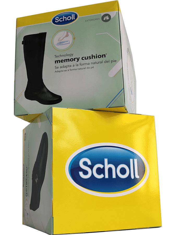 7d1851f2066f2 Espositore a cubo Scholl  soluzioni per punto vendita e farmacia