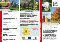 Flyer-Streuobstinitiative Chiemgau