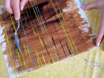 Vorübung mit Palettenmesser