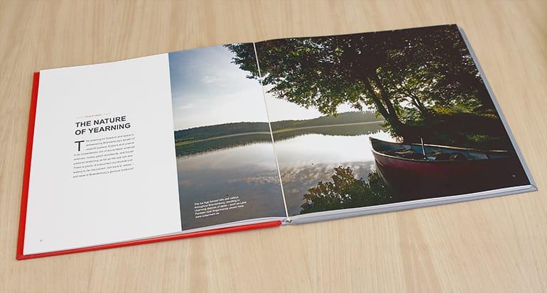 coffee table book fur das land