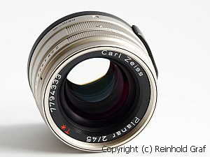 Contax Zeiss Planar 2/45mm