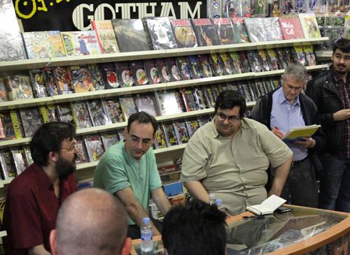 Díaz Canales Fonteriz Pons en Gotham Comics