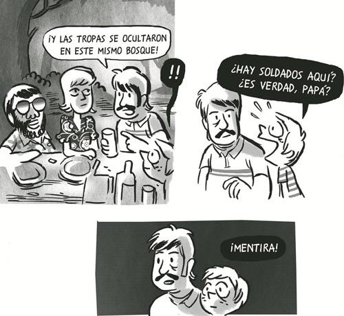 comic LO PRIMERO QUE ME VIENE A LA MENTE de  Juaco Vizuete
