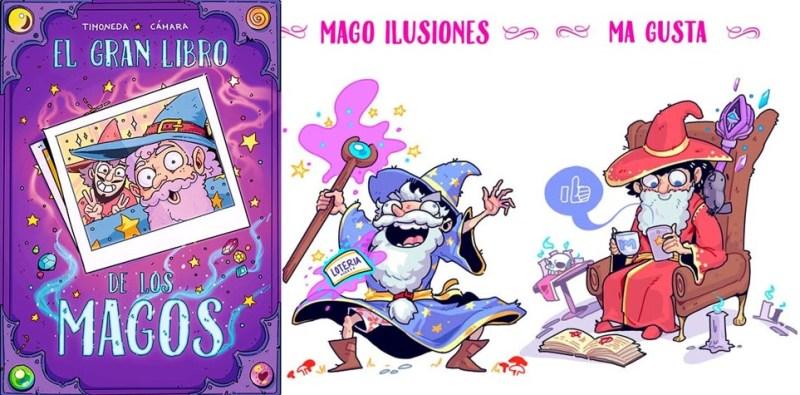 el gran libro de los magos comics