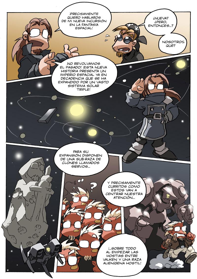 promo 02 del cómic Los mundos de Valken