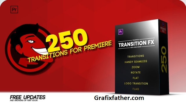 Download] Handy Seamless Transitions Premiere Pro Templates