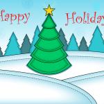 Happy Holidays   Grafix66 Designs   Zazzle