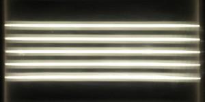Asymmetric linear diffusion film horizontal example