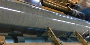 Plastic film and sheet slitting