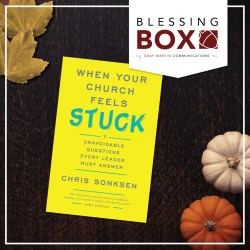 Pastor Appreciation Blessing Box - When Your Church Feels Stuck
