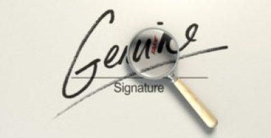 perizie calligrafiche