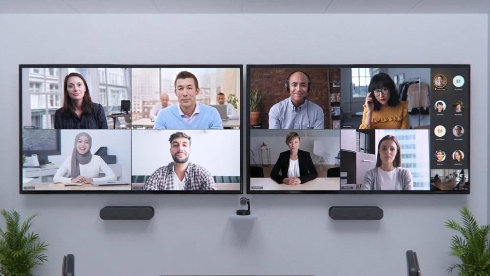 Dual Screen Microsoft Teams Room