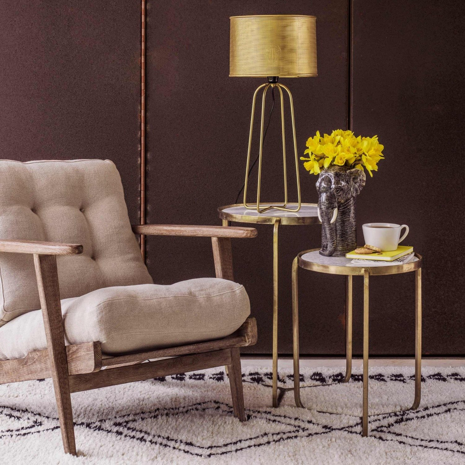 jacques set of two side tables