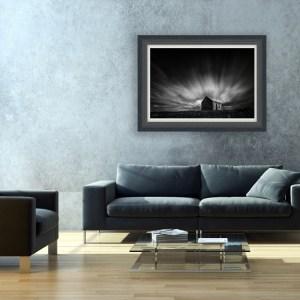 Heaven On Earth Print on wall