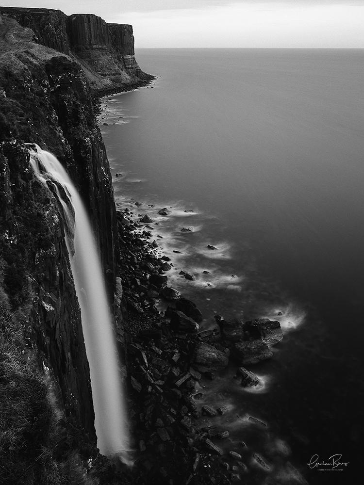Mealt Falls waterfall Isle of Skye