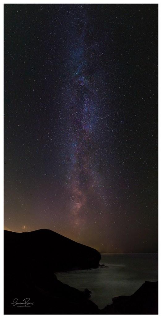 Chapel Porth Beach Milky Way St Agnes