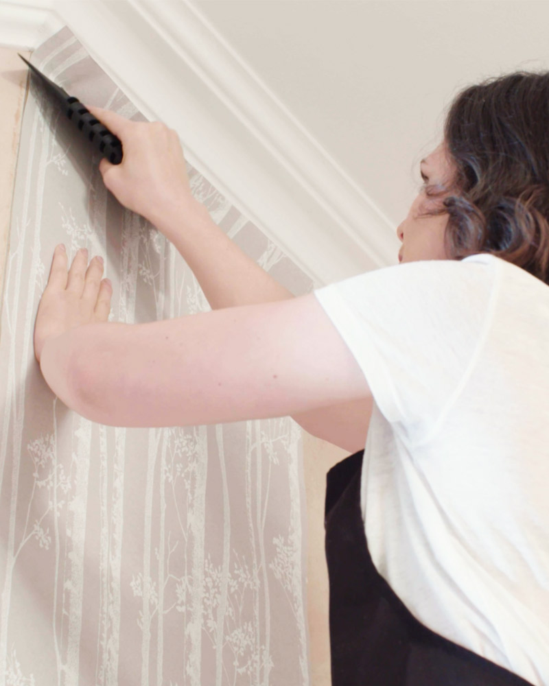 How To Hang Wallpaper Step By Step Video And Advice Graham Brown