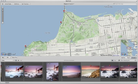 Canon EOS 6D Integrated GPS coordinates on Map Canon 6D Review