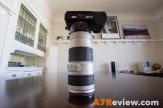 Sony A7R with Metabones EF Adapter and Canon 70-200mm L IS top 3