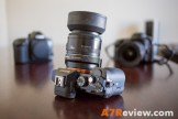 Sony A7R with the Canon 50mm 1.8 with metabones EF top