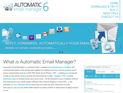 How to make your email automatic