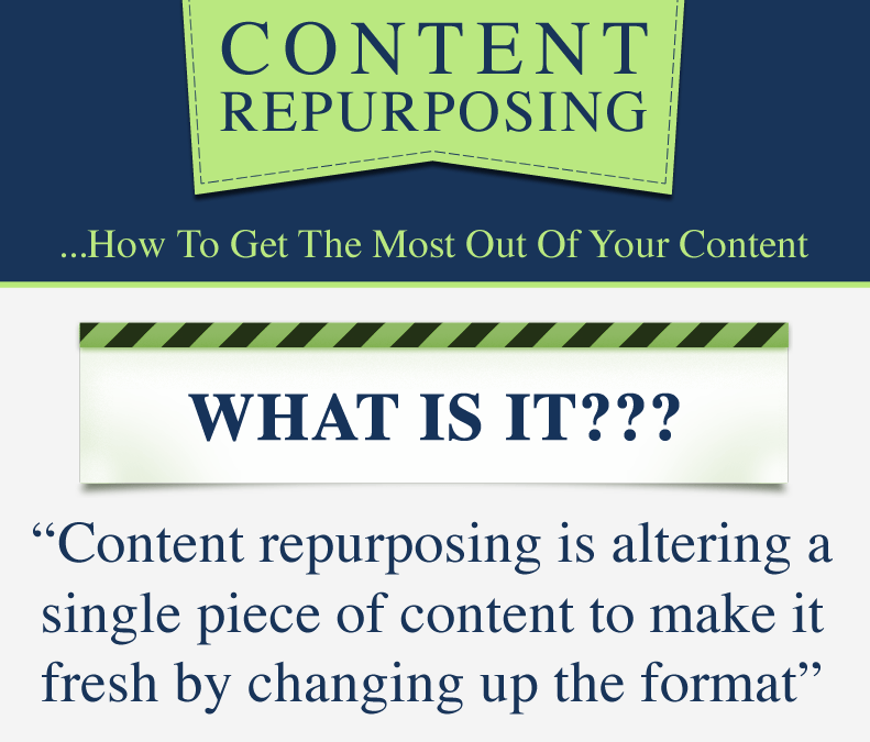How to get the most out of your content