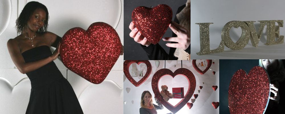Valentines Commercial Retail Window Display Ideas