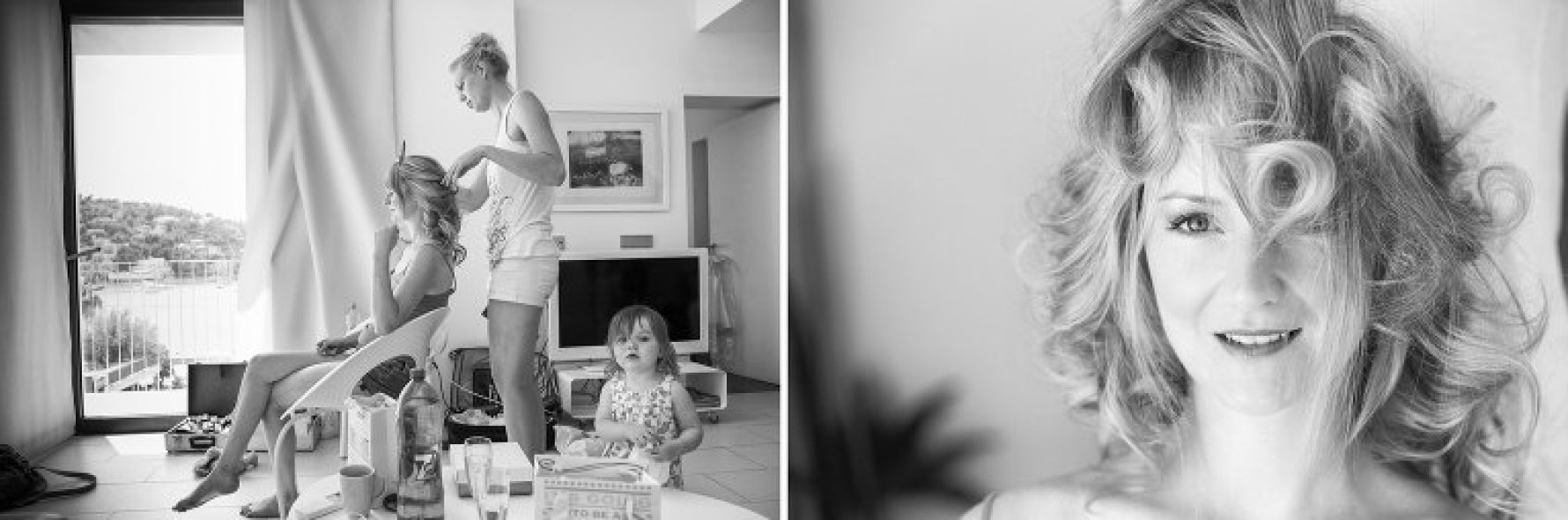 """The curls"" by Mallorca wedding photographer in Port de Soller"