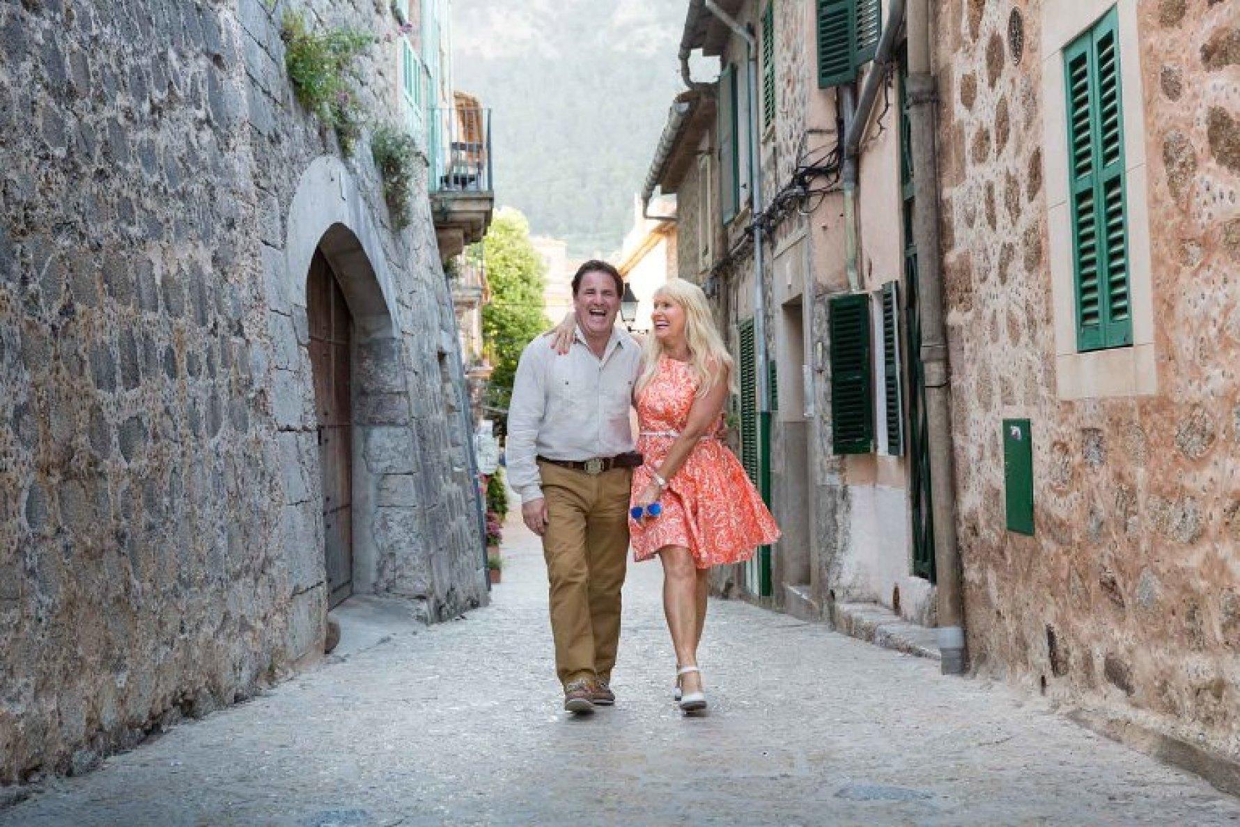 In love in Valldemossa