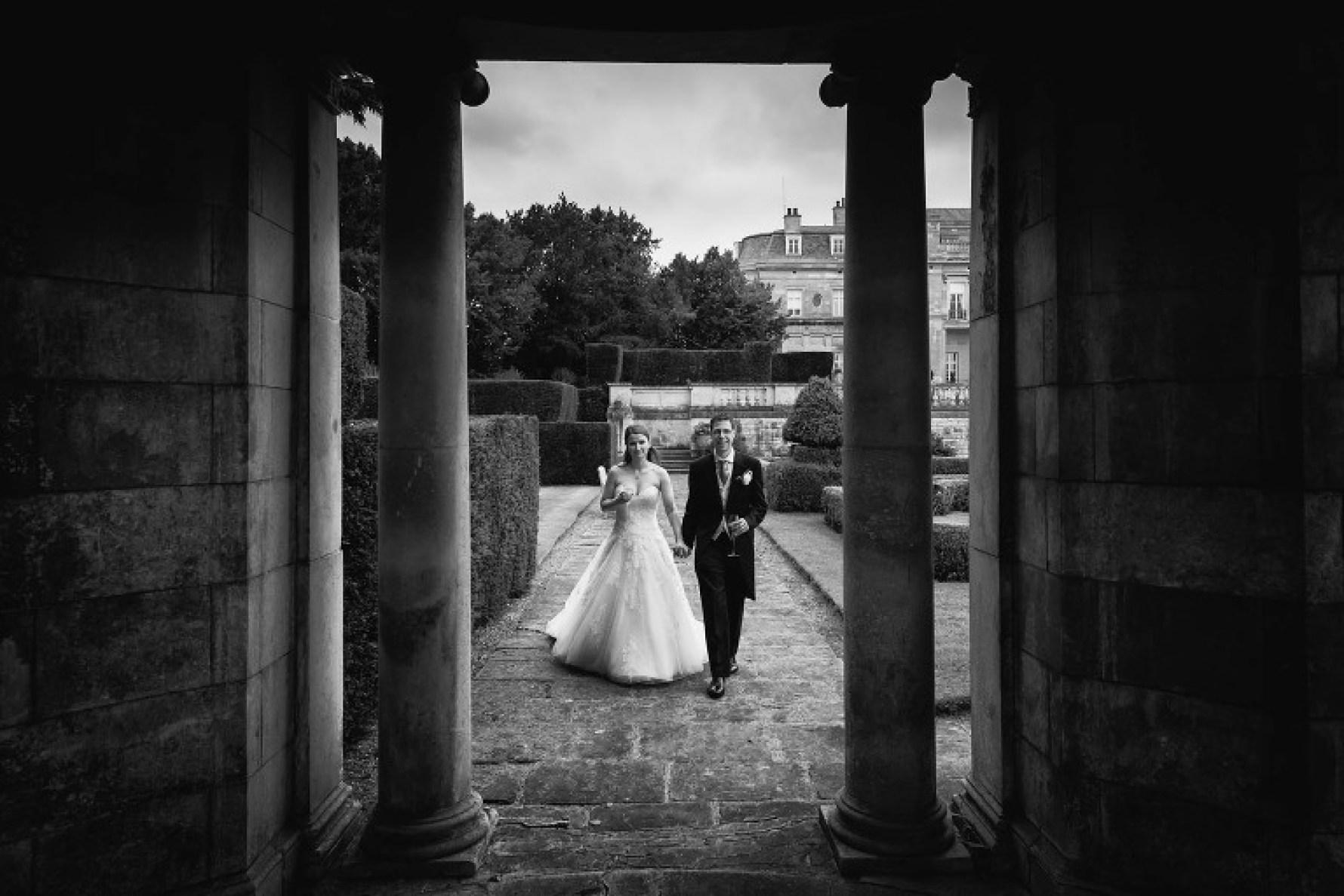 Bedfordshire wedding in the gardens of Luton Hoo Hotel