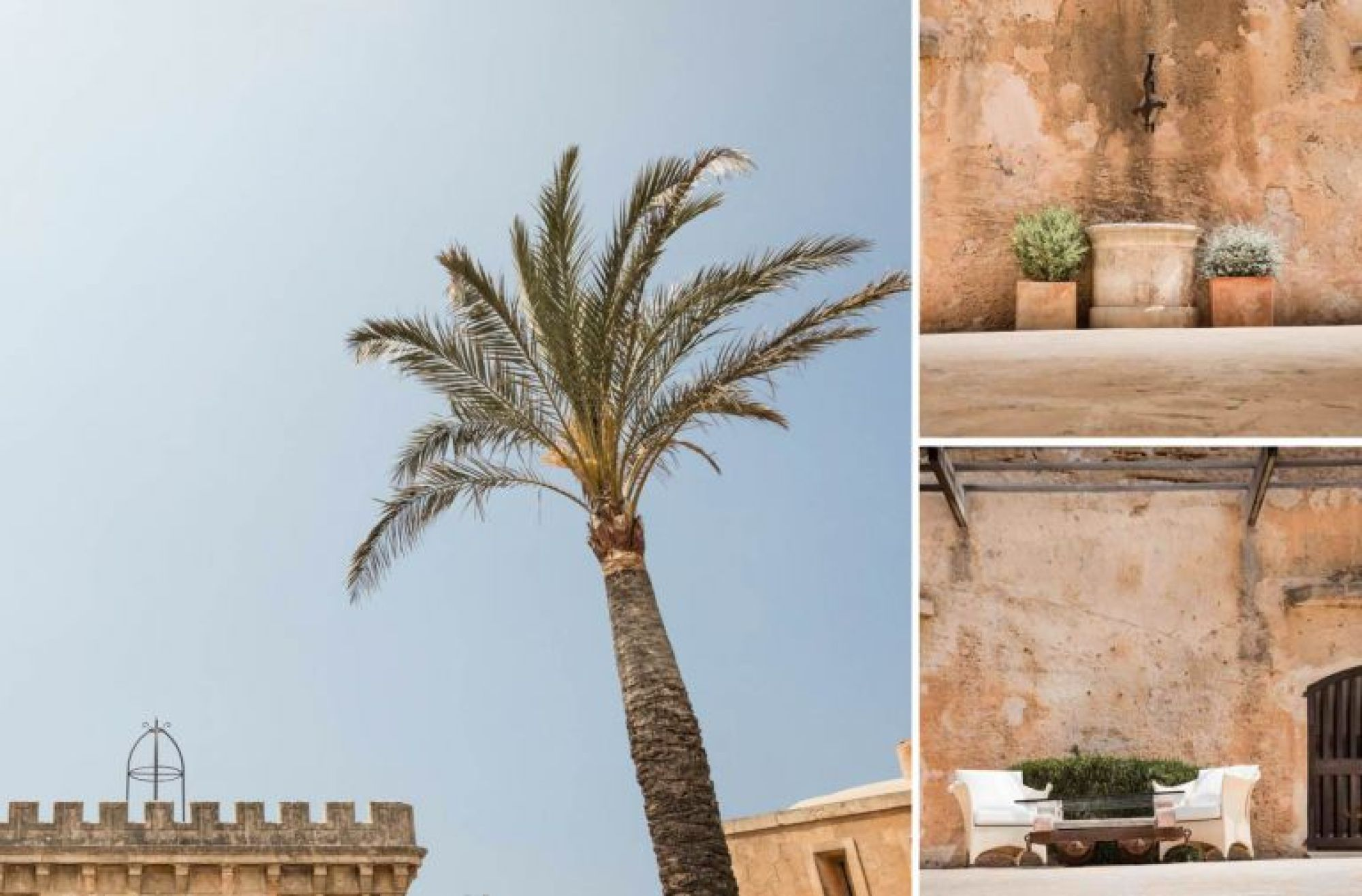 A few scenes at Cap Rocat hotel in Mallorca