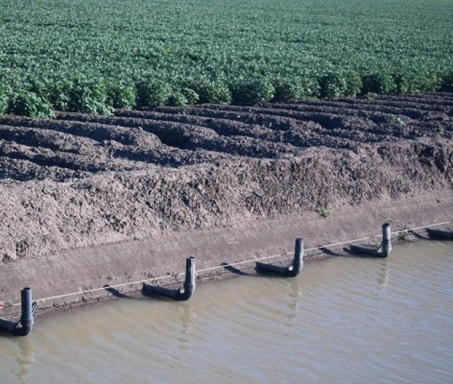 The Smart Siphon Irrigation System On Keytah In The Gwydir Valley In North West Nsw