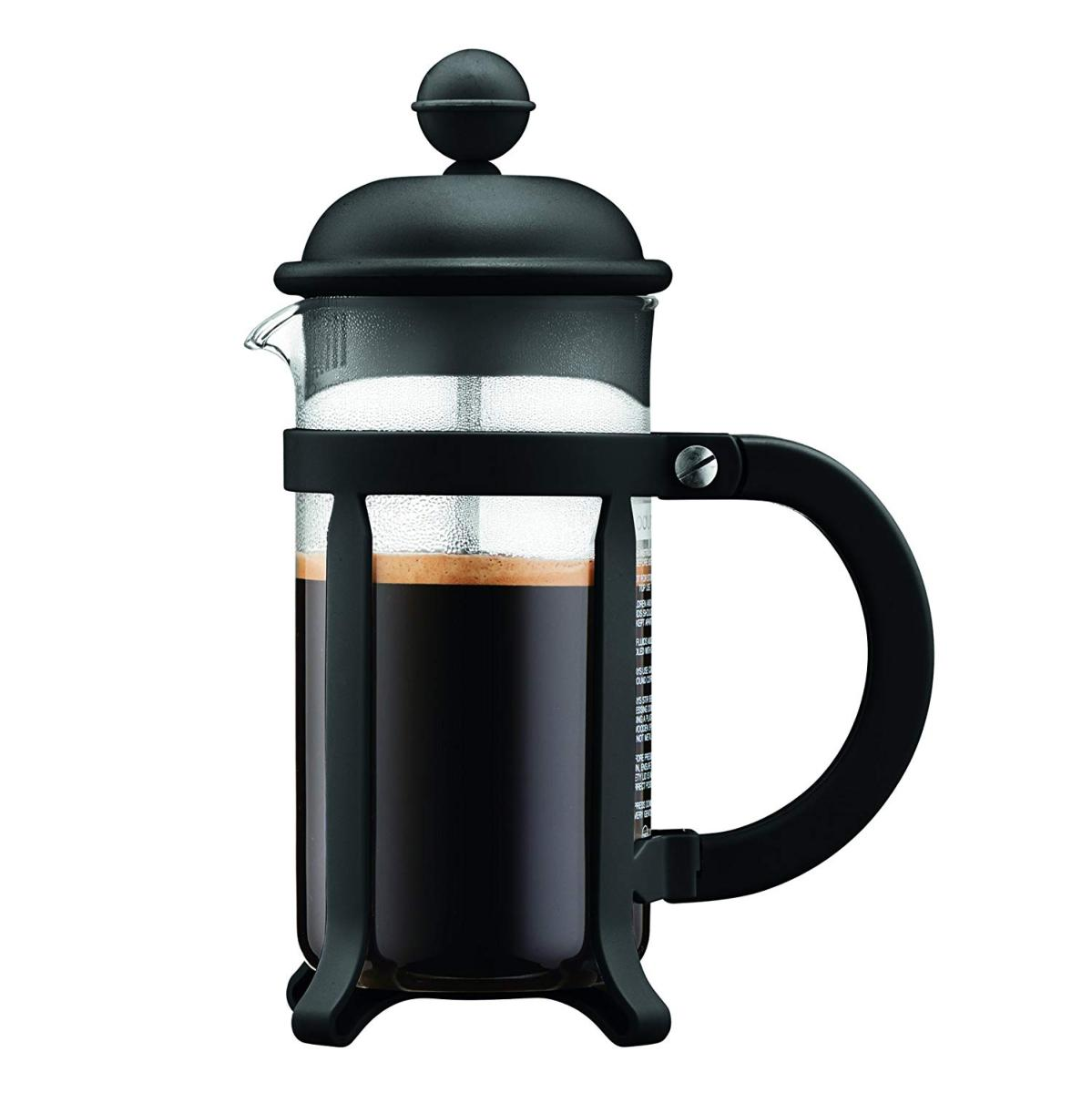 cafetiere a piston java noire 8 tasses bodum