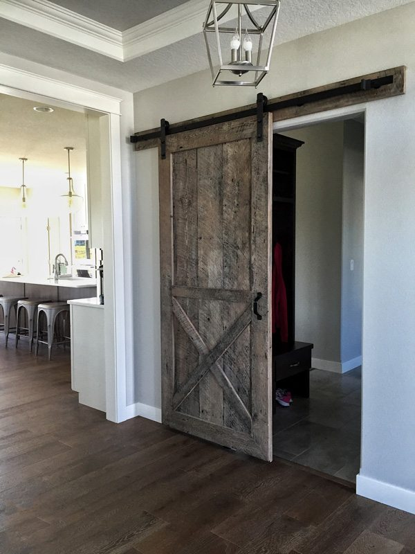 the sliding barn door guide everything you need to Rustic Gray Barn Door id=46834