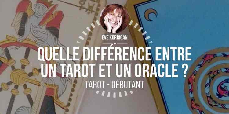 Cours de tarot gratuit - quelle différence entre un tarot et un oracle ? Graine d'Eden - Eve Korrigan