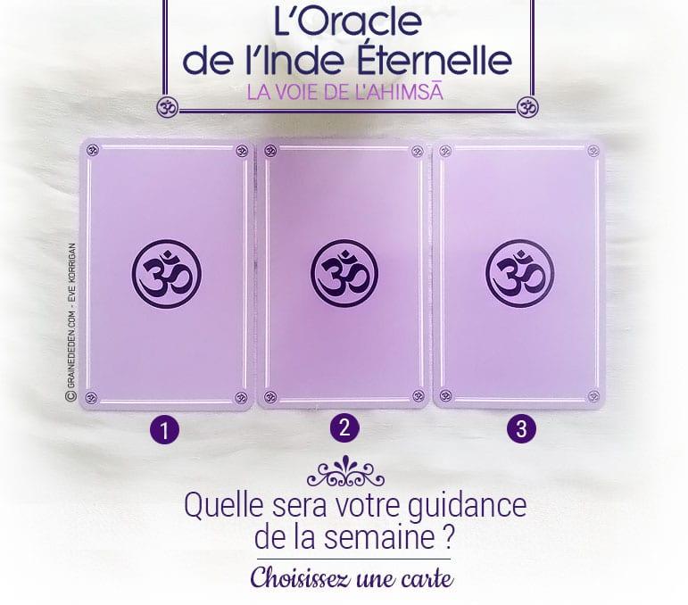 12 au 18 septembre - Votre guidance de la semaine avec l'Oracle de l'Inde Eternelle de Gabriel Kishan - Graine d'Eden Tarots et Oracles divinatoires