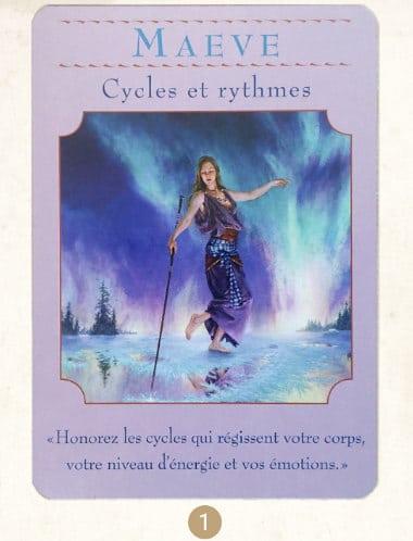 29 mai au 4 juin 2017 - Votre guidance de la semaine avec les Cartes Oracle des Déesses de Doreen Virtue - Graine d'Eden Tarots et Oracles divinatoires - avis, review, présentations