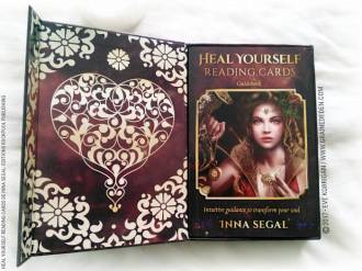 Heal Yourself Reading Cards de Inna Segal - Graine d'Eden Développement personnel, spiritualité, tarots et oracles divinatoires, Bibliothèques des Oracles, avis, présentation, review , revue
