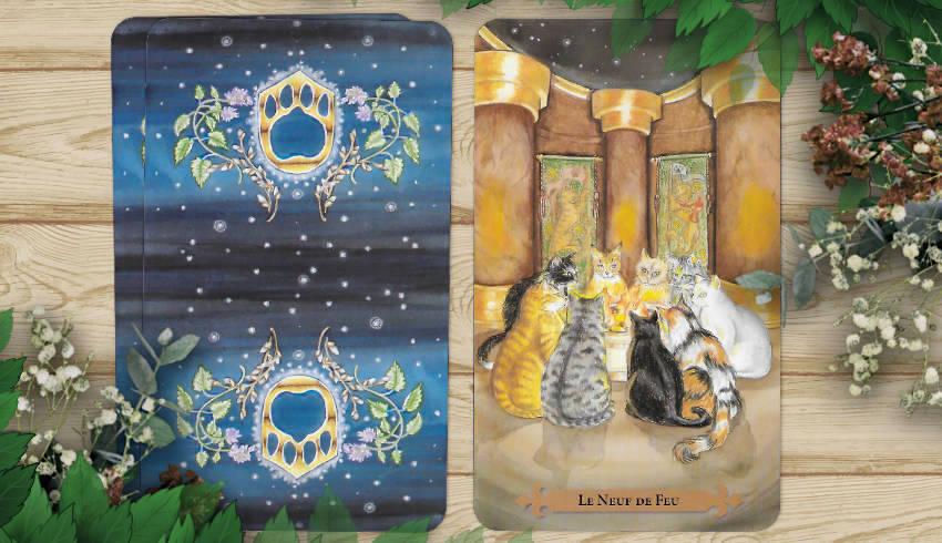 14 au 20 mai 2018 - Votre guidance de la semaine avec le Tarot des Chats Mystiques - Graine d'Eden Développement personnel, spiritualité, tarots et oracles divinatoires, Bibliothèques des Oracles, avis, présentation, review tarot oracle , revue tarot oracle