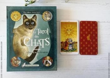Le Tarot des Chats de Céline Guillaume et Séverine Pineaux