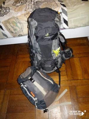 bien remplir sacs de voyage