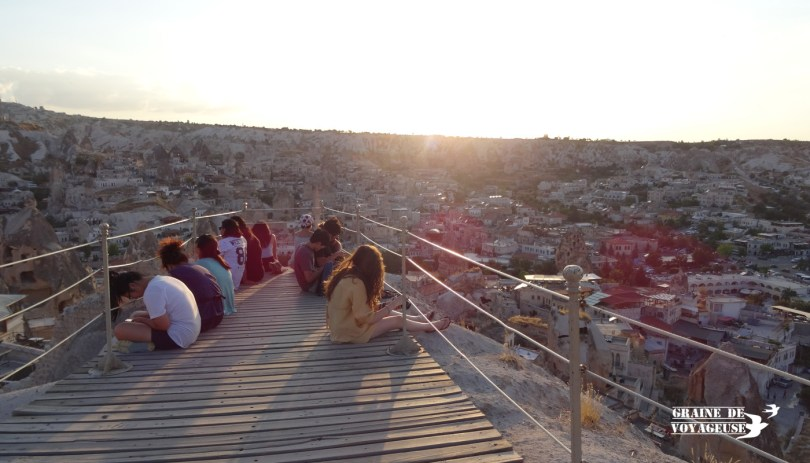 sunset point goreme cappadoce