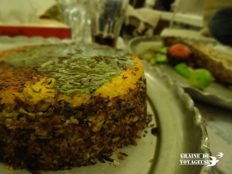 cuisine locale shiraz iran