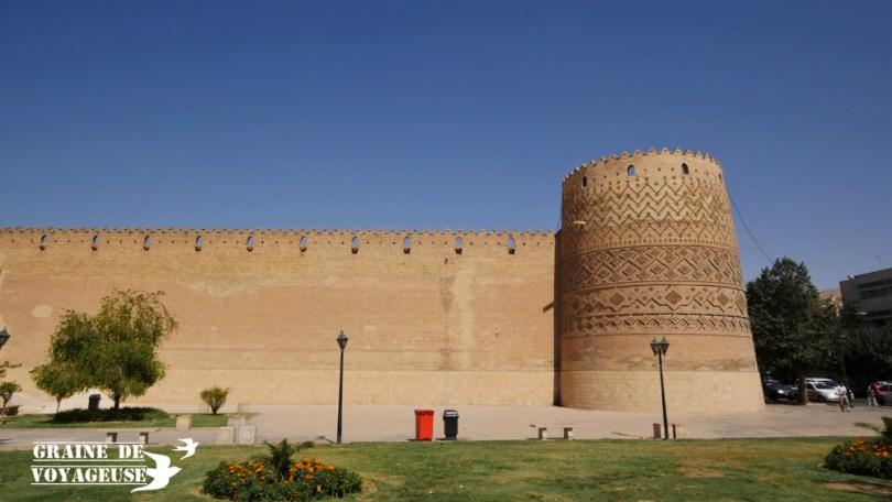 citadelle karim khan shiraz iran