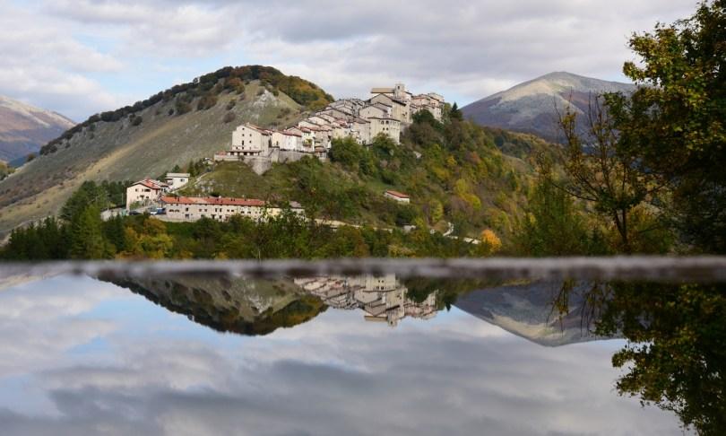 Le village d'Opi © A. Iannarelli