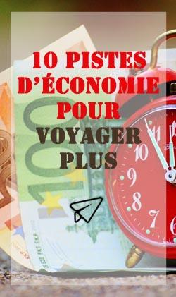 10 pistes d'économie pour voyager plus