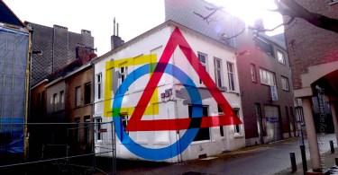 streetArt CrystalShip Ostende