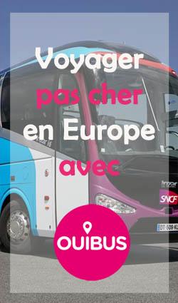 Voyager pas cher en Europe avec Ouibus