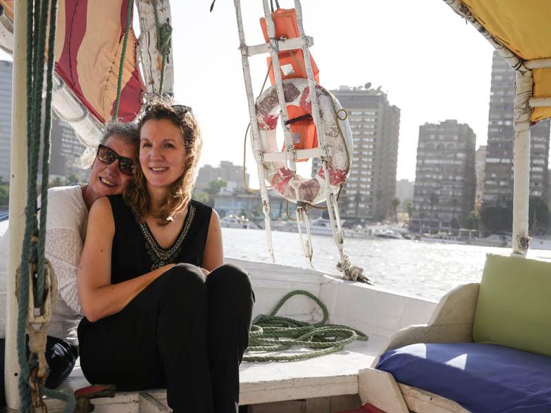 Felouque Nil Caire