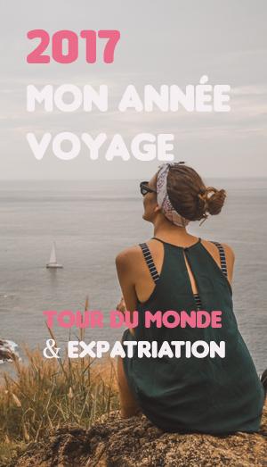 Bilan voyage 2017 Tour du monde expatriation